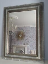 Large Wall Mirror 120 cm x 90 cm Shabby Chic Mirror for Living Room Oriental New