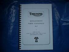 TRIUMPH T90 T100S,T100R,T100C,T. PARTS BOOK FOR 1967 MODELS
