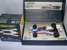 SUPERSLOT LEGENDS H3414A McLAREN M23  #40  TONY TRIMMER    SCALEXTRIC UK  MB