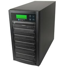 1-5 DVD/CD Discs Copier Duplicator with Samsung 24x Burners Dual Layer Drives