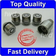 PREMIUM QUALITY ALLOY WHEEL LOCKING NUTS FOR FORD FOCUS C-MAX SECURITY LUGS [N5]