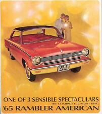 1965 AMC Rambler American Brochure 4272-ZGI7DO