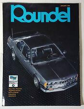 ROUNDEL BMW MAGAZINE 1996 JANUARY 6 SERIES M5 M6 M3 E92 E90 E46 E30 E36 F13 E24
