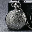 Hot Classic Movie Doctor Who Compass Design Pocket Watch Chain Presents Collect