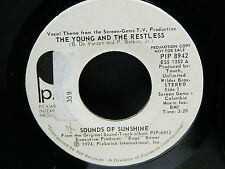 BO TV Screen gems The young and the restless SOUNDS OF SUNSHINE / touch ltd PIP