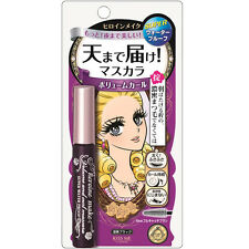Isehan Japan Kiss Me Heroine VOLUME Curl Super Waterproof Mascara [Deep Black]