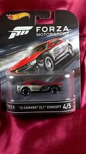 Hot Wheels Forza Motorsport '12 Camaro ZL1 Concept #4/5 Real Riders Diecast Rare