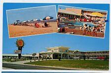 NAGS HEAD NC early Sea Oatel MOTEL nr KITTY HAWK KILL DEVIL HILLS OBX postcard