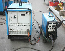 Cigweld TRANSMIG 450 CV 100017-002 4RHD 3 phase Mig Welder 4wheel wire feed 450A