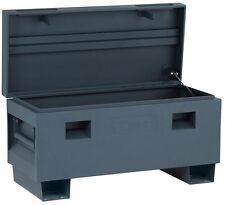 Job Site Box Jobsite Tool Storage Truck Bed 36 in. Matte Gray Rust-resistant