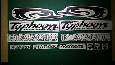 Piaggio Typhoon Tech for fun Swirl Decals/Stickers 50 80 125 172 183  FULL KIT