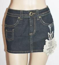 Colcci Industry Designer Dark Blue Denim Skirt Size XS BNWT #sS72