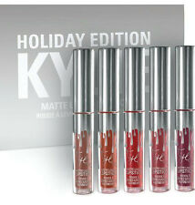 "► ""BOX LIPSTICK KYLIE COSMETICs"" 6 color/box dope makeup girl  (holiday edition)"
