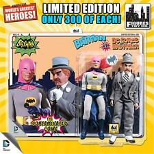 "Pink Cowl BATMAN vs MAD HATTER 1966 TV Series 8""Retro Mego Action Figures Toy Co"