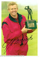 "Colin Montgomerie Colour 10""x 8"" Signed Golfing Trophy Win Photo - UACC RD223"