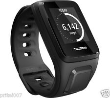 "New ""TomTom"" Spark Fit Black Large GPS Sport Watch Activity Ultra Slim Tracker"
