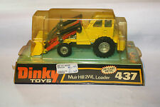 Dinky 437 Muir Hill 2WL Loader, Near Mint in Excellent Original Bubble Box