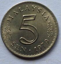 Malaysia 5 sen 1979 coin (High Grade)