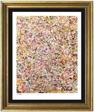 "Jackson Pollock Signed & Hand-Numbered Ltd Edition, ""Untitled"" Lithograph Print"