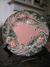 William Moorcroft Florian Plate Art Nouveau  British Ceramic Decorative