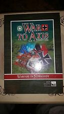 Gio Games: European Board Game - WAR TO AXIS complete with English Rules