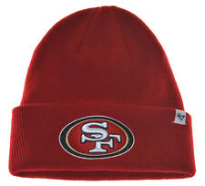 NFL San Francisco 49ers Beanie Knit Hat-47 brand-red