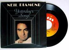 Neil Diamond YESTERDAY'S SONGS / GUITAR HEAVEN  singolo 45 GIRI VINILE