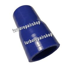 "4PLY 1.25"" to 1.75"" Reducer Coupler Silicone Silicon Turbo Hose  Pipe 32 to 45mm"