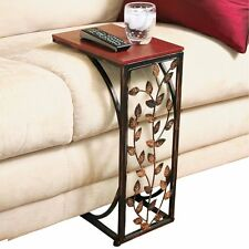 Living Room Sofa Side End Coffee Table Stand Tray Console Stand End TV Lap Snack