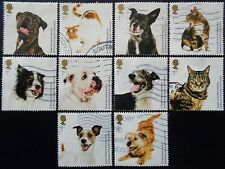 GB 2010 Battersea Cats and Dogs Used Off Paper Set
