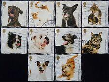 GB 2010 Battersea cani e gatti USATO OFF Set di carta