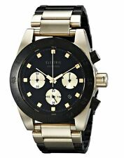 2016 NIB MENS ELECTRIC DW01 SS WATCH $450 black gold water resistant analog