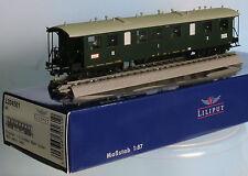 Liliput 334561 -Spur H0-  Badischer Eilzug.w. 1./2./3.Klasse, 4achs.,grün, Ep. 1