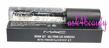 Mac Brow Set Gel Pour Les Sourcils (Clear) 0.28 oz/8g New In Box