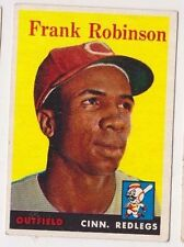 1958 Topps #285 Frank Robinson - Cincinnati Reds, Excellent Condition!