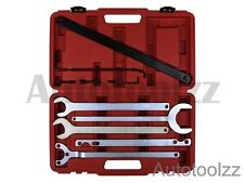 Mercedes Benz/BMW 8pc Fan Clutch Service Water Pump Holder Wrench Tool Set