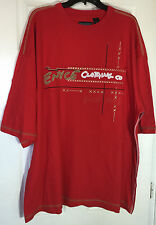men 4x t shirt short sleeve urban with applique and prints NWT