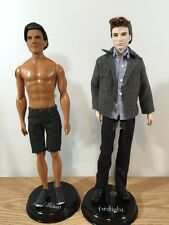 Twilight Saga Set: Mattel - New Moon Jacob & Edward Cullen 12""