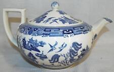 Willow Wedgwood Etruria England Tea Pot Lot 530