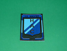 N°69 BADGE ECUSSON LE HAVRE AC HAC DESCHASEAUX PANINI FOOTBALL 87 1986-1987