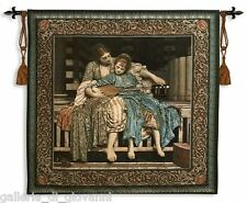"""Vintage Musical Wall Tapestry  W/Rod  50""""x53""""  Old World Antique Style"""