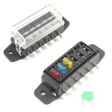 Fuse Box 6 Way for Mini Blade Fuses ATO Holder / Block 12v or 24v Car / HGV