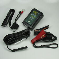 Lithium AGM GEL Lead Acid Battery Charger Fully Automatic 12 Volt .8 AMP Trickle