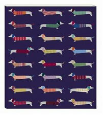 Artfile Frank Sausage Dog A4 Notebook - Handy Lined notebook - Gift idea