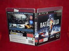 BATTLEFIELD 3 (PS3 GAME, MA 15+)(NO GAME BOOKLET)