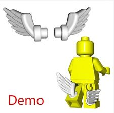 White Boot Wings on legs Roman Greek Angel Hermes Castle for Lego Percy Jackson