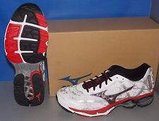 MENS MIZUNO WAVE CREATION 16 in colors WHITE / BLACK / RED SIZE 12