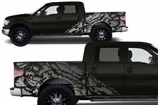 Custom Vinyl Decal Graphics Nightmare Wrap Kit for Ford F-150 09-14 Satin Silver