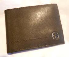 Swiss Army Leather Billfold Wallet,Brown