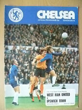 1974/75 FA Cup Semi Final REPLAY-WEST HAM UNITED v IPSWICH TOWN,9 Apr (Org,Exc*)